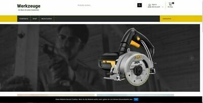 Amazon Affiliate Shop Werkzeug Shop - 823 Artikel