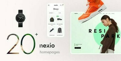 Nexio v1.2.0 - Fashion WooCommerce Theme + RTL