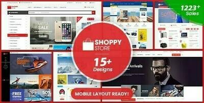 ShoppyStore v3.4.2 - WooCommerce WordPress Theme