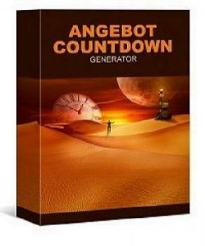 PLR Angebot Countdown Generator mit Verkaufsseite und PLR-Lizenz