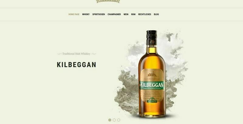 NEU-Webshop für Drinks und andere Getränke-Amazon Affiliate- NEU