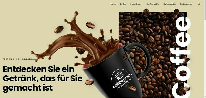 Neu Webshop für Kaffee und Zubehör - Wordpress Amazon Affiliate Neu