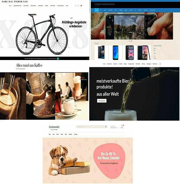 5 Amazon Affiliate Shops als Bundle Sonderpreis !!!!!!!