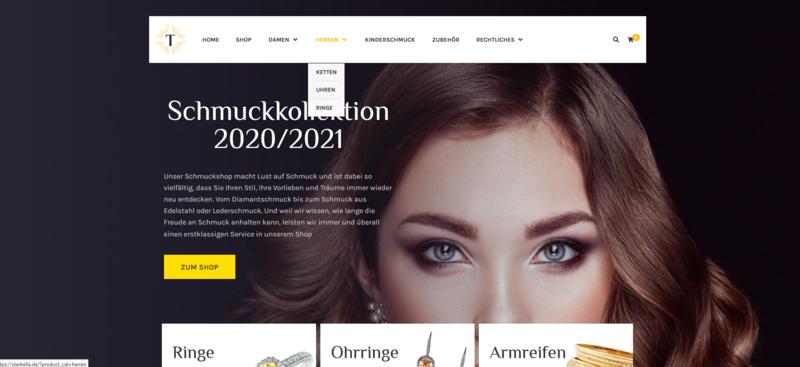 Neu Webshop für Schmuck - 1002 Artikel - Wordpress Amazon Affiliate Shop