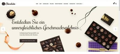Amazon Affiliate Webshop Schokoladen- Shop