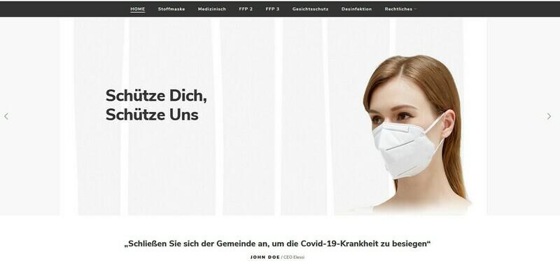 Amazon Affiliate Webshop - Mund und Nasenschutz – Online 619 Artikel