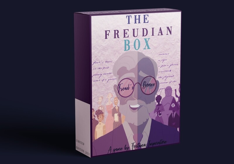 (Pre-order) The Freudian Box- La scatola freudiana