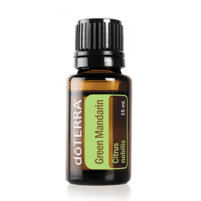 DOTERRA - GREEN MANDARIN (Citrus nobilis/Vihreä mandariini) 15 ml