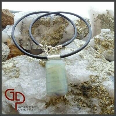 Collier verre fusion #47