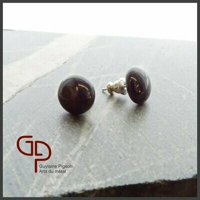 Boucles d'oreilles verre #25-26-27