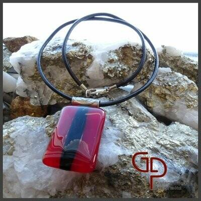 Collier verre fusion #26