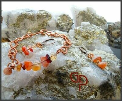 Bracelet éternité quartz