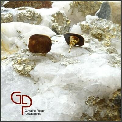 Boucles d'oreilles bronze #1