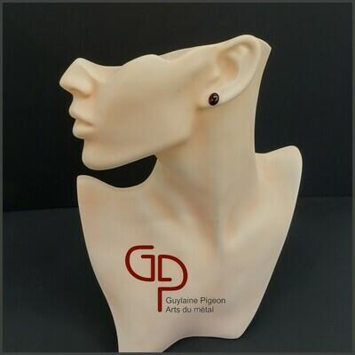 Boucles d'oreilles verre #37