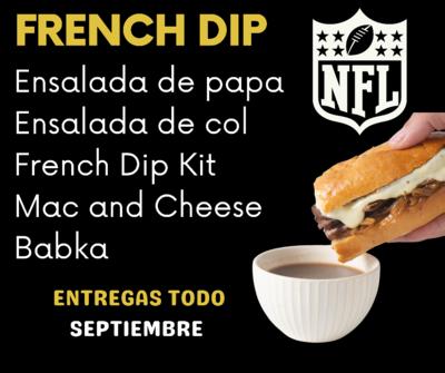 FRENCH DIP KIT NFL