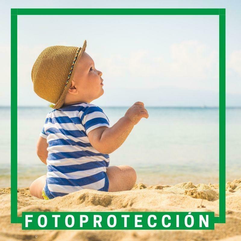 Protección solar pedriátrica