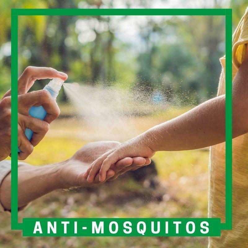 Repelentes anti-mosquitos y otros