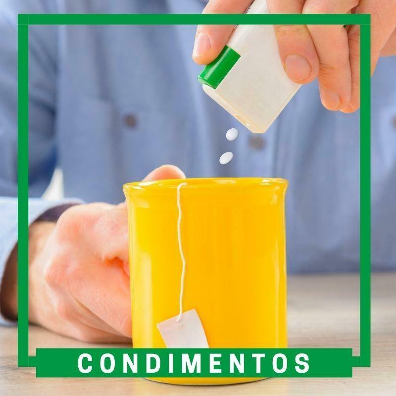 Edulcorantes/condimentos