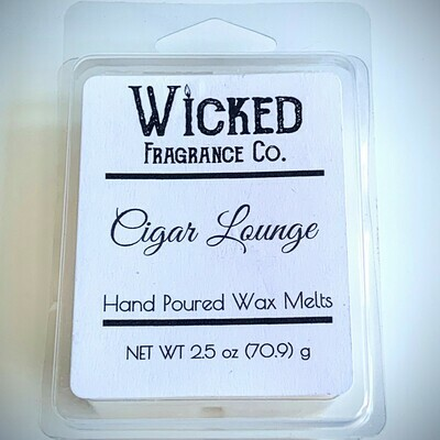 Cigar Lounge Wax Melts
