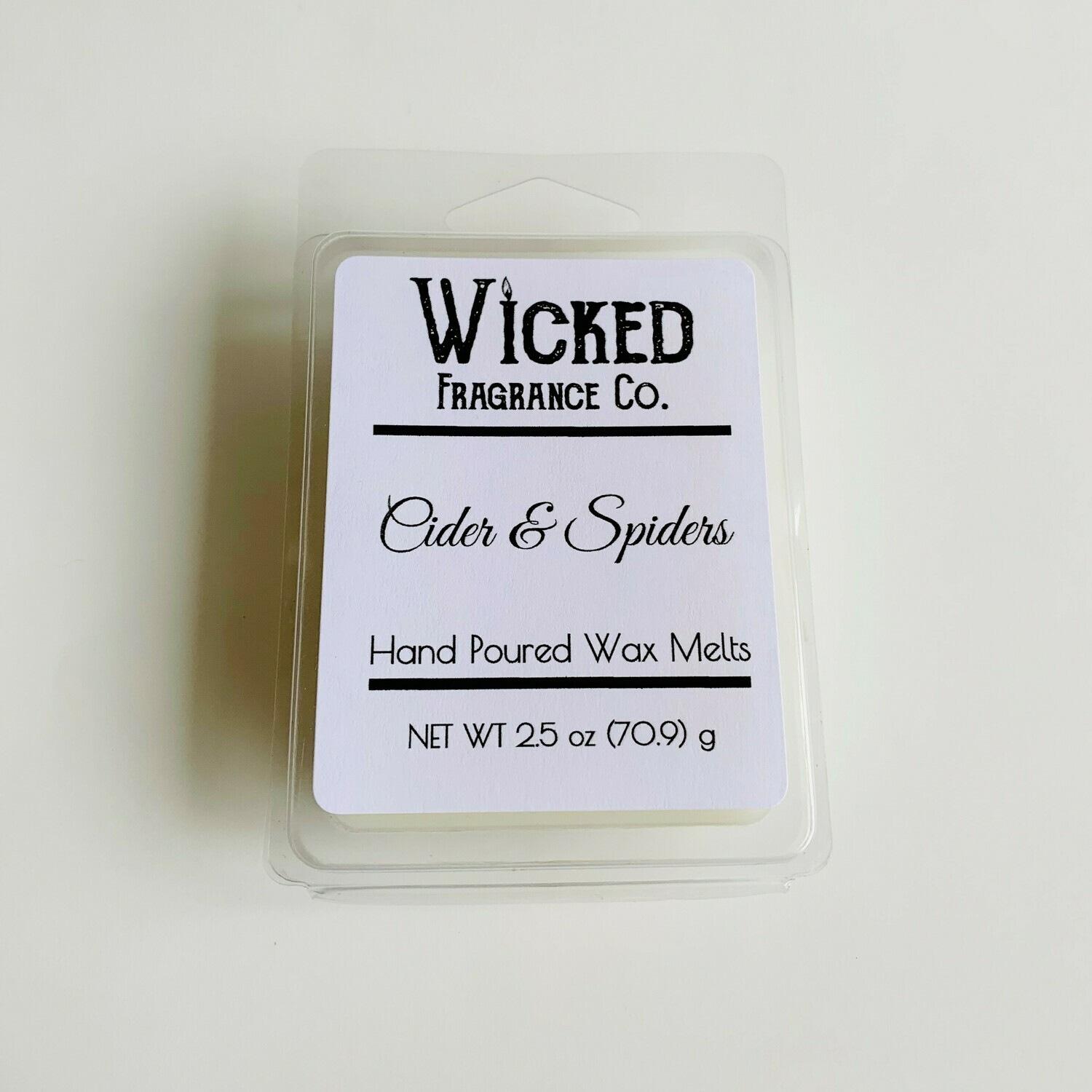 Cider and Spiders Wax Melts