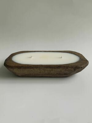 Wooden Mini Dough Bowl