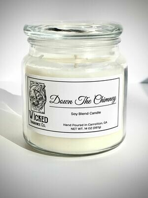 Down the Chimney Candle Large