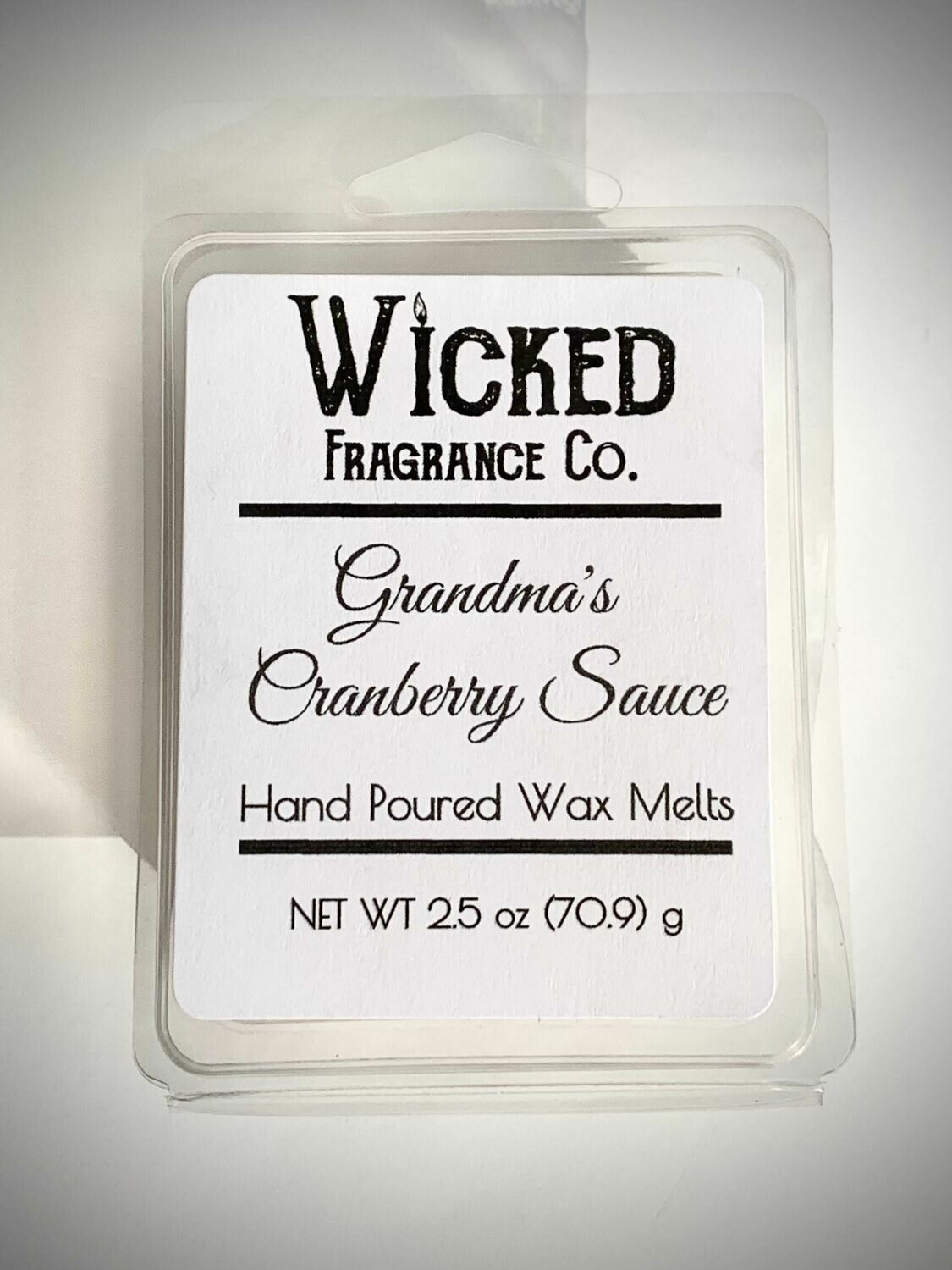 Grandma's Cranberry Sauce Wax Melts