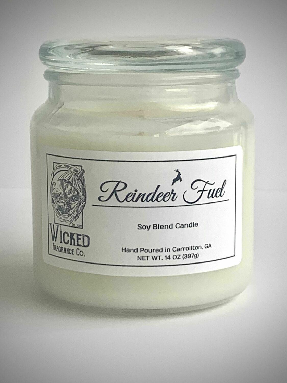 Reindeer Fuel Candle Large