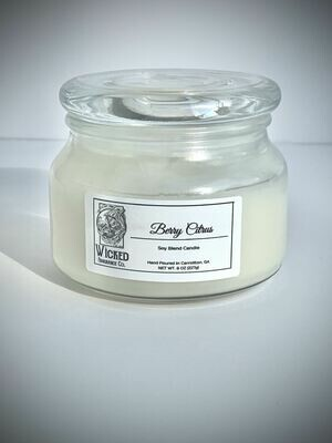 Berry Citrus Candle Small