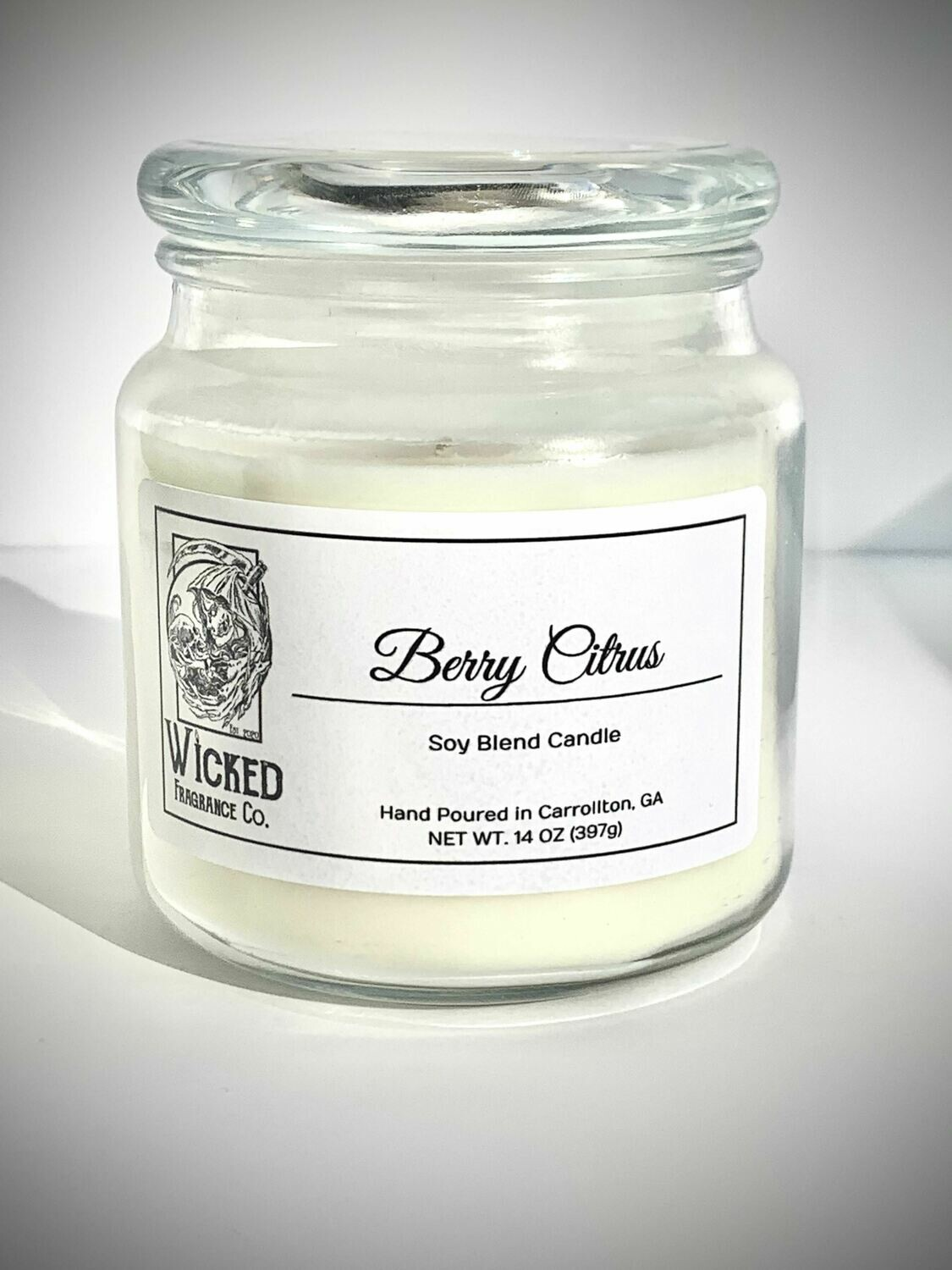 Berry Citrus Candle Large