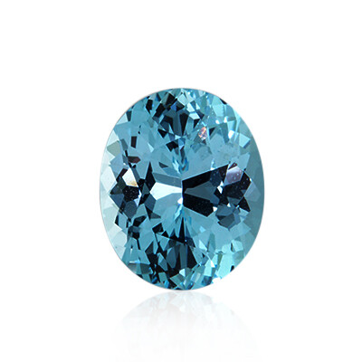 Natural Blue Topaz, Opening Special Oval Cut, Weight Between  1 ct and 1.5 ct. $7.00 Each
