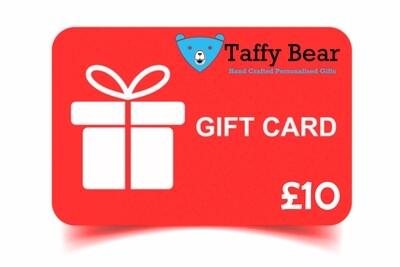 Taffy Bear Gift Cards