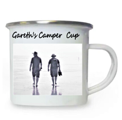 White Enamel Cup