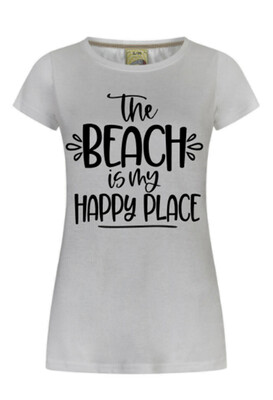 Beach is my happy place T-shirt