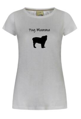 Pug Mamma T shirt