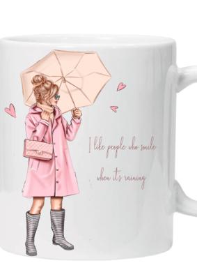 Glamsquad - Smile When its Raining Mug
