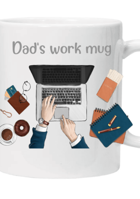Glamsquad - Dad's Work Mug