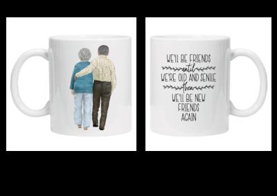 Old Friends Mug - Couple