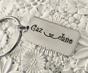 Couples Keyring
