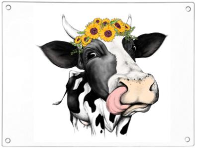 Dairy Cow Chopping Board