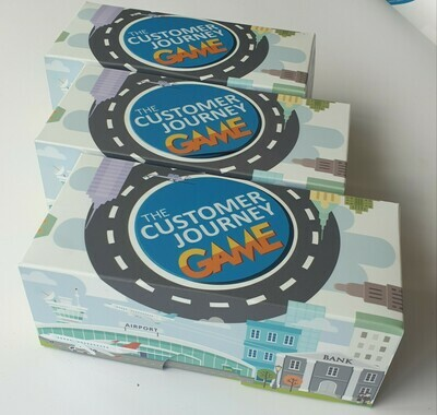 The Customer Game Series Corporate Pack of 3  of any of the Customer Games boxes (exc Vat)