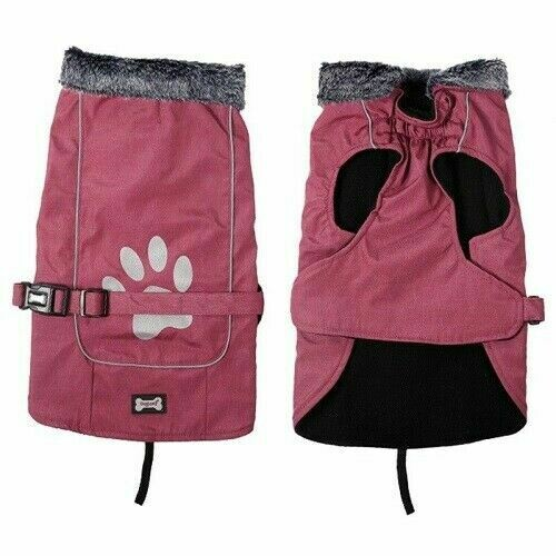 Puffer Extreme Dog Coat XXL Red - 61 CM - Chest - 64-81 CM