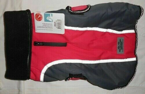 K9 Master Classic Dog Jacket 40cm Medium Red