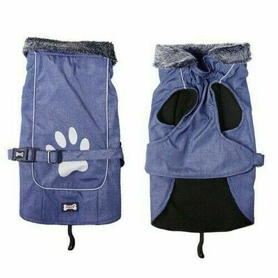 Puffer Extreme Dog Coat XL  Blue - 53 CM - Chest - 58-74 CM