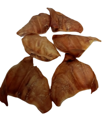 AUSTRALIAN DEHYDRATED PIG EARS X 25  (FREE SHIPPING)