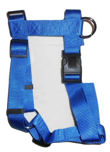 Paw Culture Dog Walking Harness Blue Large