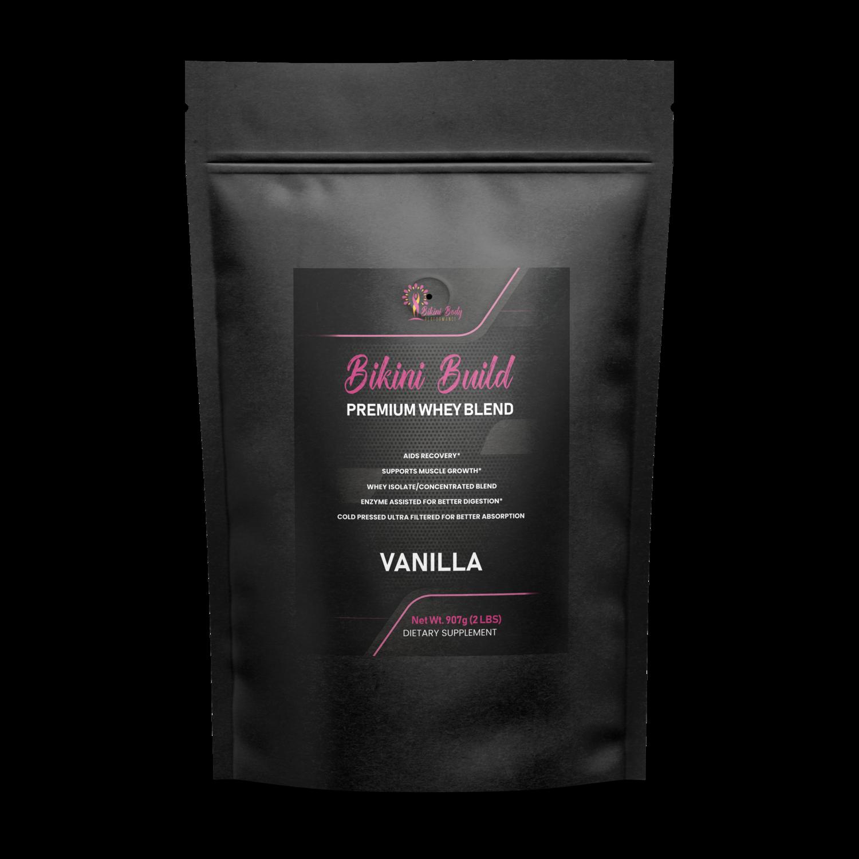 Bikini Build Whey Protein Concentrate Vanilla