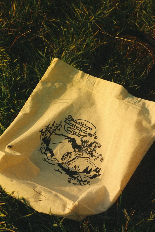 Sensitive Flatpicker's Club Tote Bag