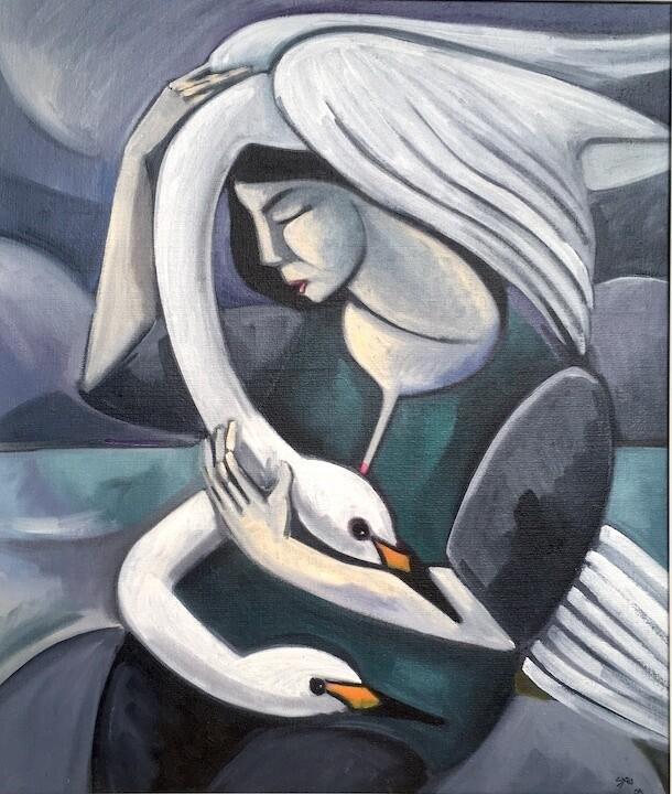 Sibling Swans