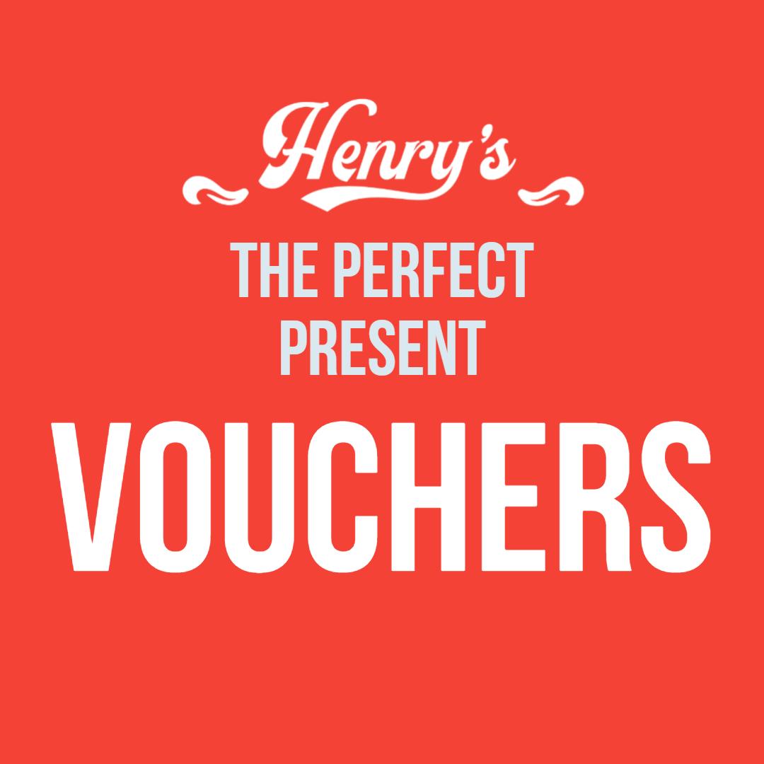 Henry's Gift Voucher